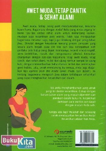 Cover Belakang Buku Awet Muda Tetap Cantik & Sehat Alami