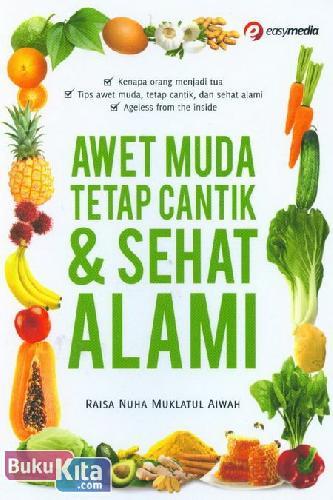 Cover Buku Awet Muda Tetap Cantik & Sehat Alami
