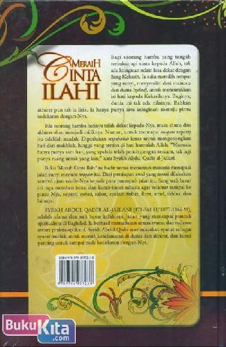Cover Belakang Buku Meraih Cinta Ilahi : Lautan Hikmah Sang Nabi Allah
