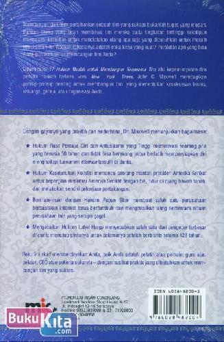 Cover Belakang Buku The 17 Indisputable Laws of Teamwork - 17 Hukum Mutlak untuk Membangun Kerja Sama Tim
