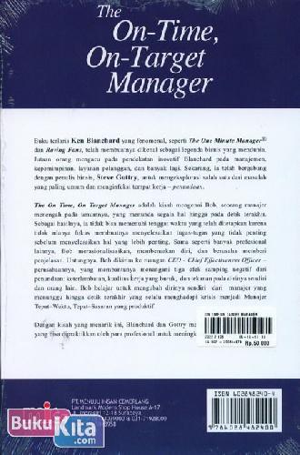 Cover Belakang Buku The On-Time, On-Target Manager