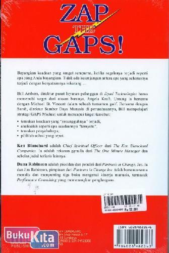 Cover Belakang Buku Zap The Ga! : Capailah Prestasi Tertinggi Dalam Hidup Anda