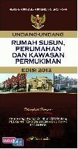 Rumah Susun, Perumahan dan Kawasan Permukiman (Edisi 2012)
