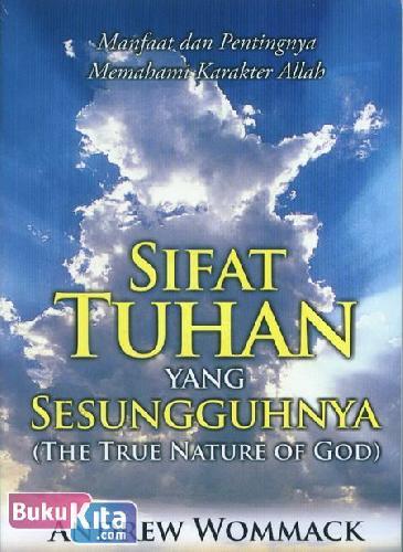 Cover Buku Sifat Tuhan yang Sesungguhnya