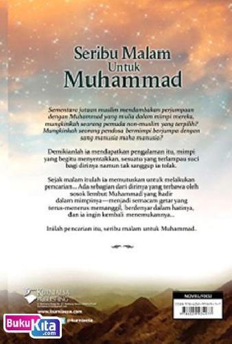 Cover Belakang Buku Seribu Malam Untuk Muhammad