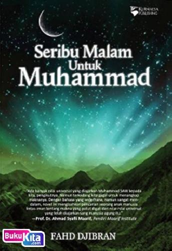 Cover Buku Seribu Malam Untuk Muhammad