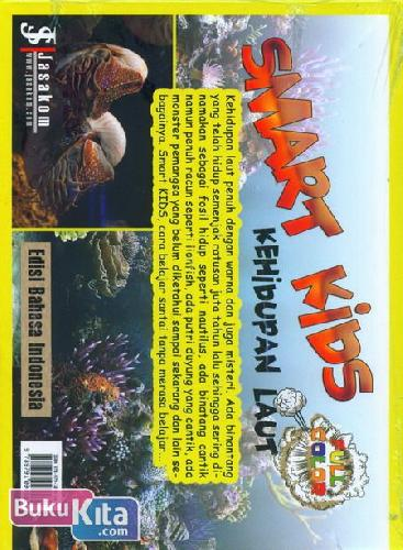 Cover Belakang Buku Smart Kids : Kehidupan Laut (full color)