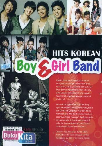 Cover Belakang Buku Hits Korean Boy & Girl Band