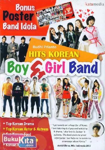 Cover Buku Hits Korean Boy & Girl Band