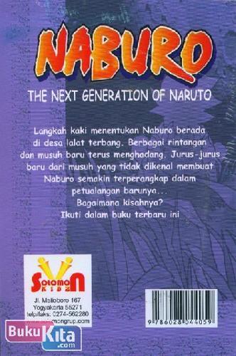 Cover Belakang Buku NABURO : The Next Generation of Naruto 6