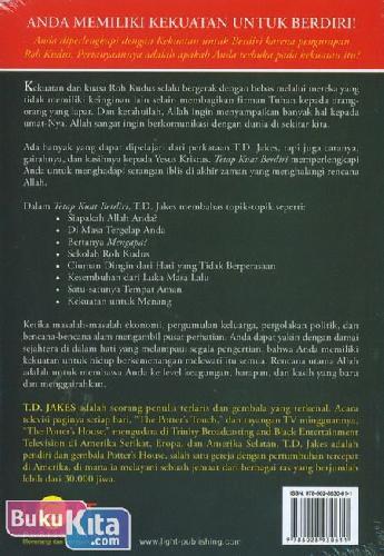 Cover Belakang Buku Tetap Kuat Berdiri : Menaklukkan, Berhasil, Berkembang, Maju, Menang