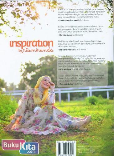 Cover Belakang Buku Inspiration by Riamiranda