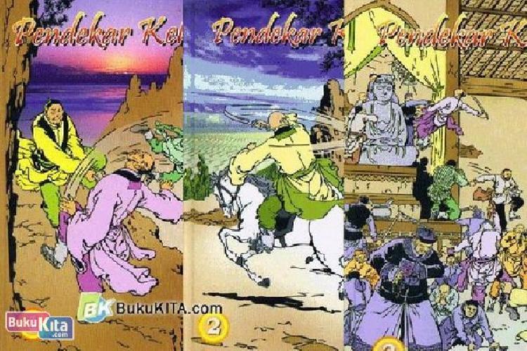 Cover Buku Pendekar Kelana 1-3 (TAMAT)