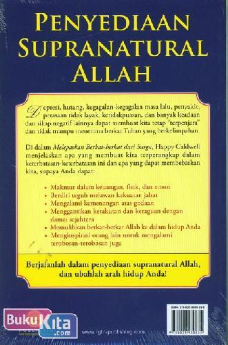 Cover Belakang Buku Melepaskan Berkat-Berkat dari Surga