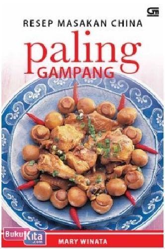 Cover Buku Resep Masakan China Paling Gampang