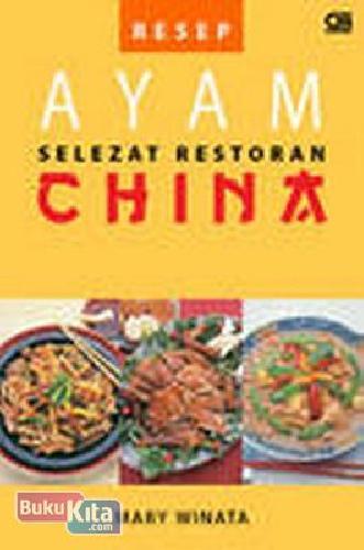 Cover Buku Resep Ayam Selezat Restoran China