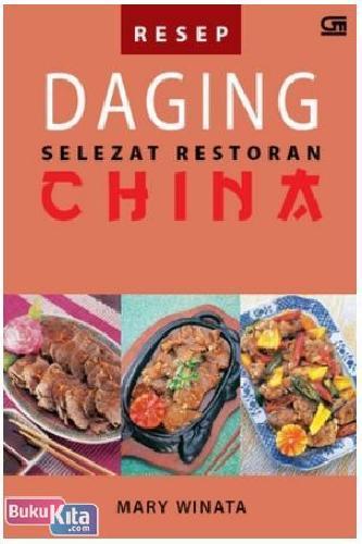 Cover Buku Resep Daging Selezat Restoran China