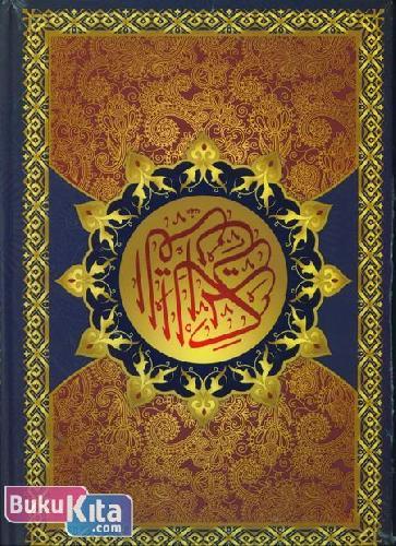 Cover Buku MUSHAF AL-KABIR (cover warna biru)