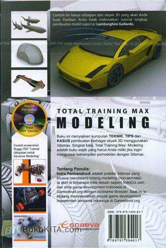 Cover Belakang Buku Total Training Max MODELING
