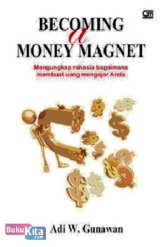 Cover Buku Becoming A Money Magnet (Cover Baru)