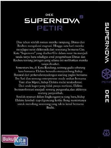 Cover Supernova #3 Petir