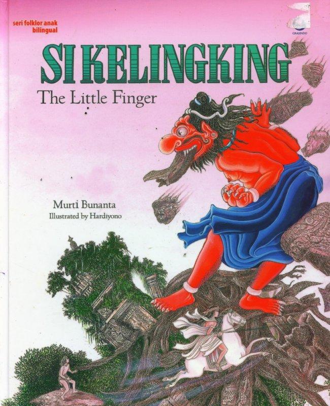 Cover Buku Si Kelingking (Dwi Bahasa)