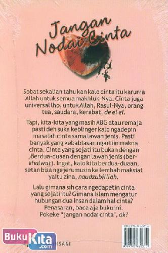 Cover Belakang Buku Jangan Nodai Cinta