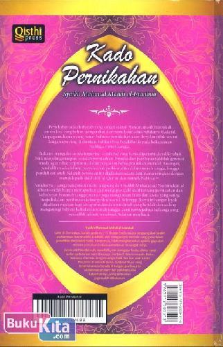 Cover Belakang Buku Kado Pernikahan