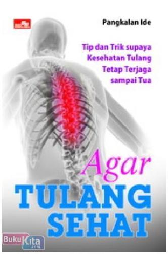 Cover Buku Agar Tulang Sehat