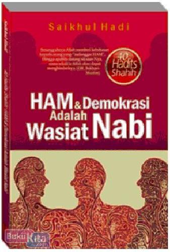Cover Buku Ham dan Demokrasi Adalah Wasiat Nabi