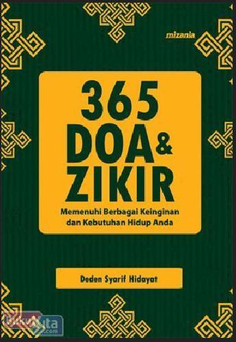Cover Buku 365 Doa Dan Zikir - Hc (New)