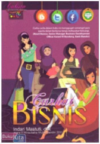 Cover Buku Curhat Bisnis