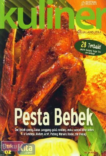 Cover Buku Kuliner Pesta Bebek (Disc 50%)