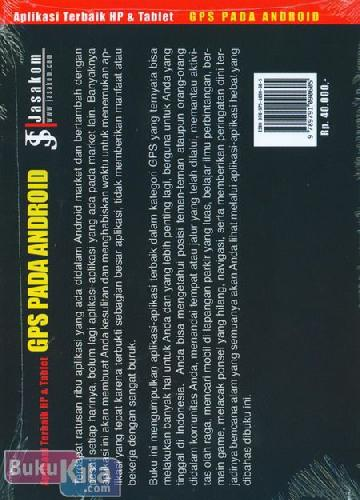 Cover Belakang Buku Aplikasi Terbaik HP & Tablet GPS PADA ANDROID