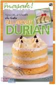 Resep Kue Favorit ala Cafe : All About Durian