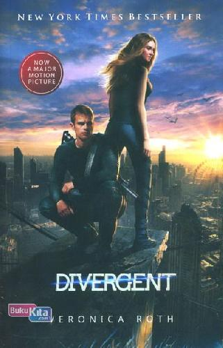Cover Buku Divergent Movie Tie-In