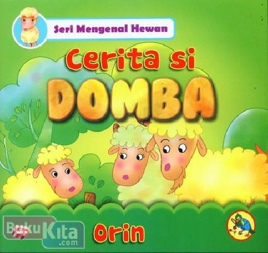 Cover Buku Seri Mengenal Hewan : Cerita Si Domba
