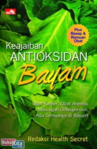 Cover Buku Keajaiban Antioksidan Bayam