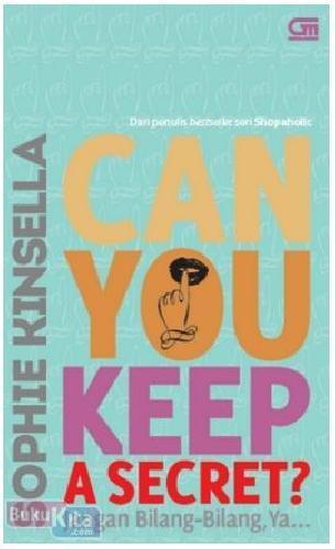 Cover Buku Can You Keep a Secret? - Jangan Bilang-Bilang, Ya...
