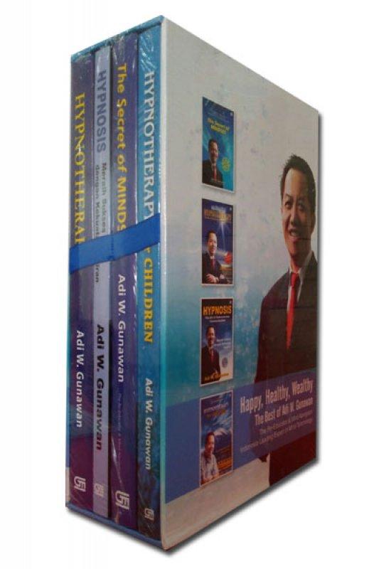 Cover Buku Box Set The Best of Adi W. Gunawan (isi 4 buku)