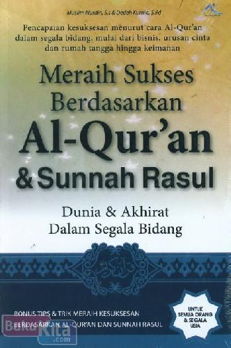 Cover Buku Meraih Sukses Berdasarkan Al-Quran & Sunnah Rasul