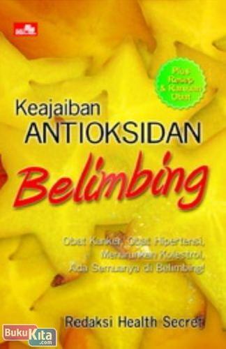 Cover Buku Keajaiban Antioksidan Belimbing