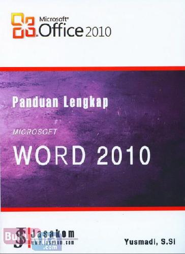 Cover Buku Panduan Lengkap Microsoft Word 2010