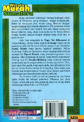 Cover Belakang Buku Wisata Murah Sumatera (Panduan Keliling Sumatera Paling Murah & Lengkap)