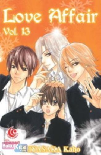 Cover Buku LC : Love Affair 13