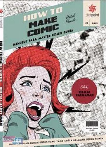 Cover Buku How To Make Comic