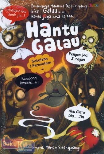 Cover Buku Hantu Galau