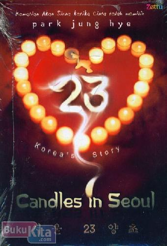 Cover Buku 23 Candles In Seoul