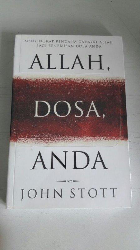 Cover Buku Allah, Dosa dan Anda