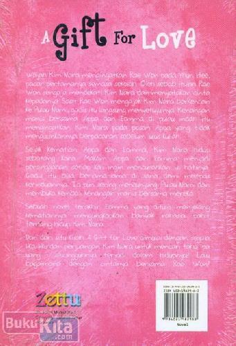 Cover Belakang Buku A Gift For Love